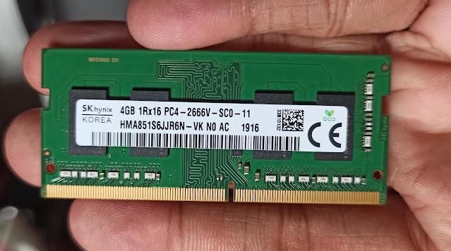 4GB 1Rx16 PC4 2666v SCO 11