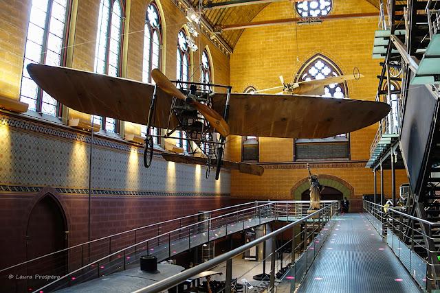 Aéroplane Blériot XI - Musée des Arts et Métiers © Laura Prospero