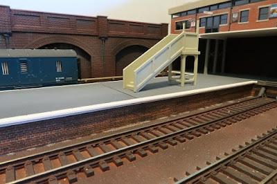 Developing Hopwood model railway layout. Peco,Ratio, Wills.