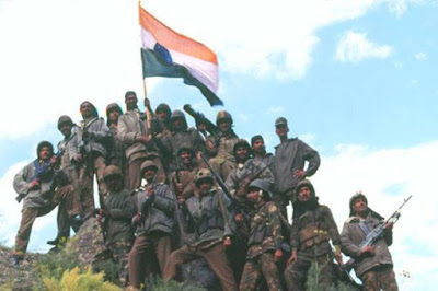 India celebrates 21 years of Kargil Vijay.