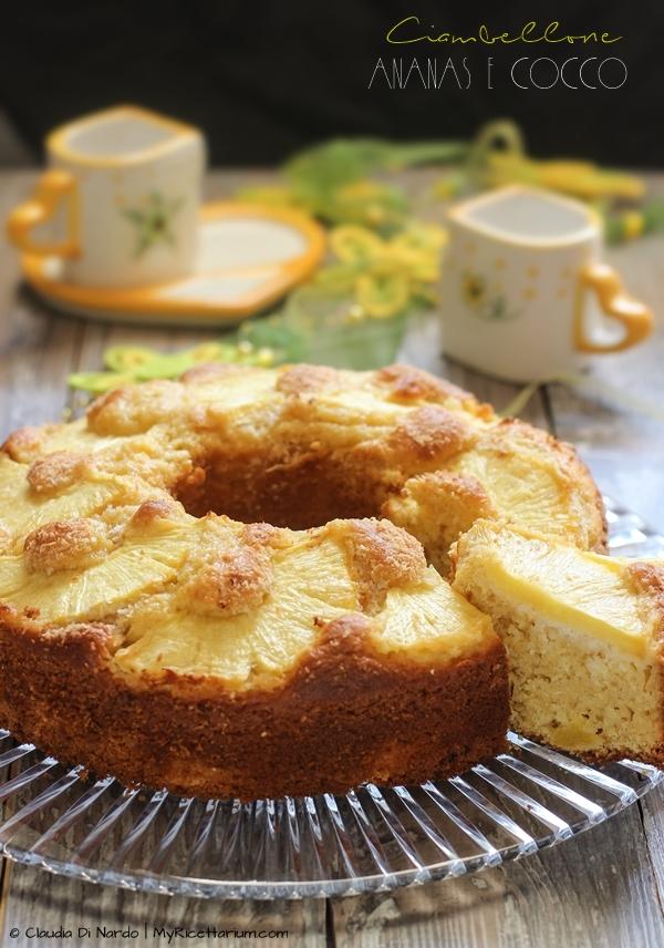 Ciambellone ananas e cocco