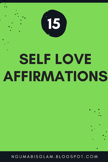 15 Self Love Affirmations