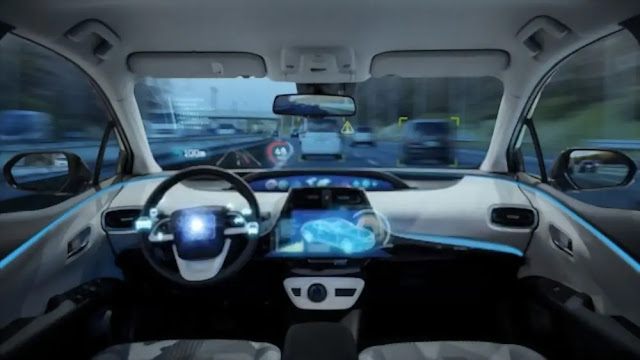 Mobil Tanpa Sopir Produk Teknologi Modern