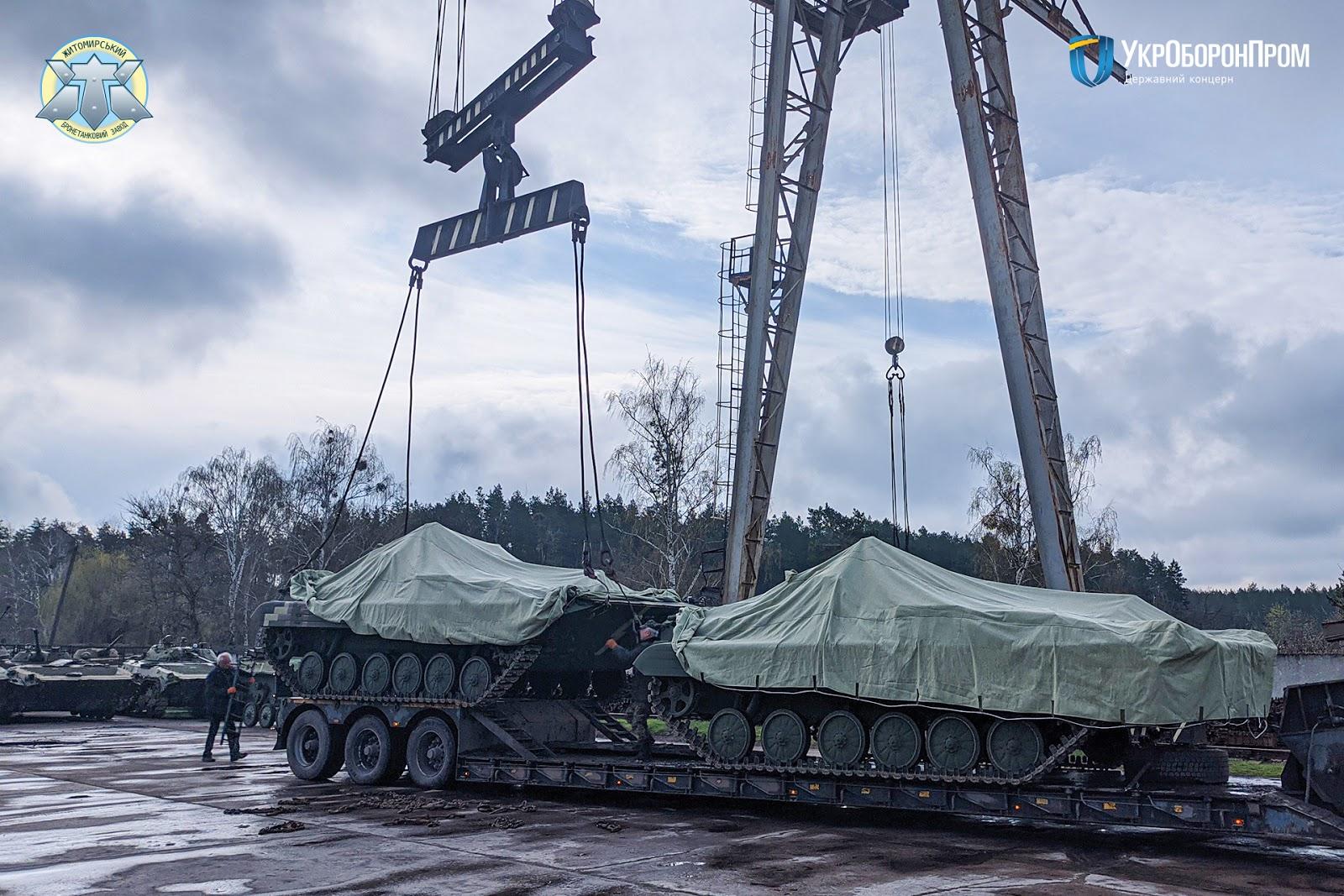 ЖБТЗ передав ЗСУ партію відремонтованих БМП-2