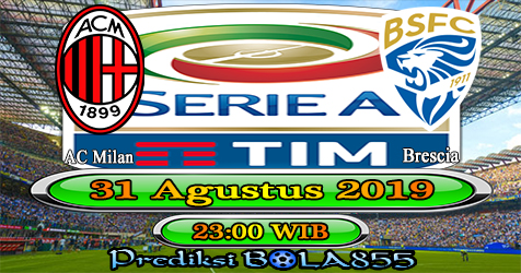 Prediksi Bola855 AC Milan vs Brescia 31 Agustus 2019