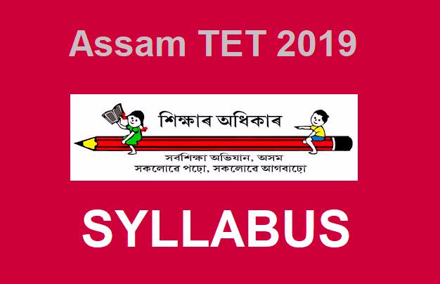 Assam-TET-Syllabus-2019