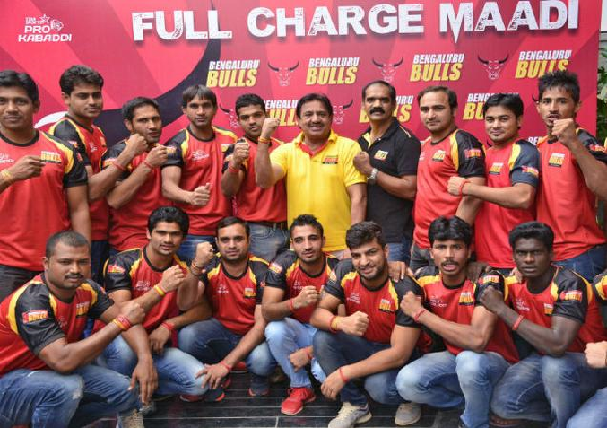 Bengaluru Bulls team players list