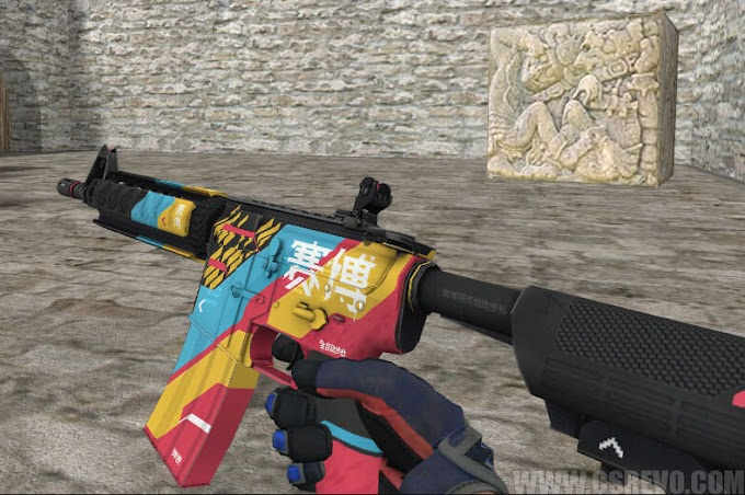 Skin M4A4 - Cyber Security (CS:GO) - HD para CS 1.6