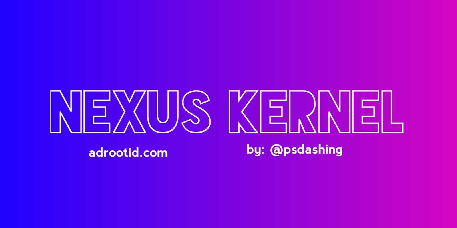 Kernel nexus redmi 4x