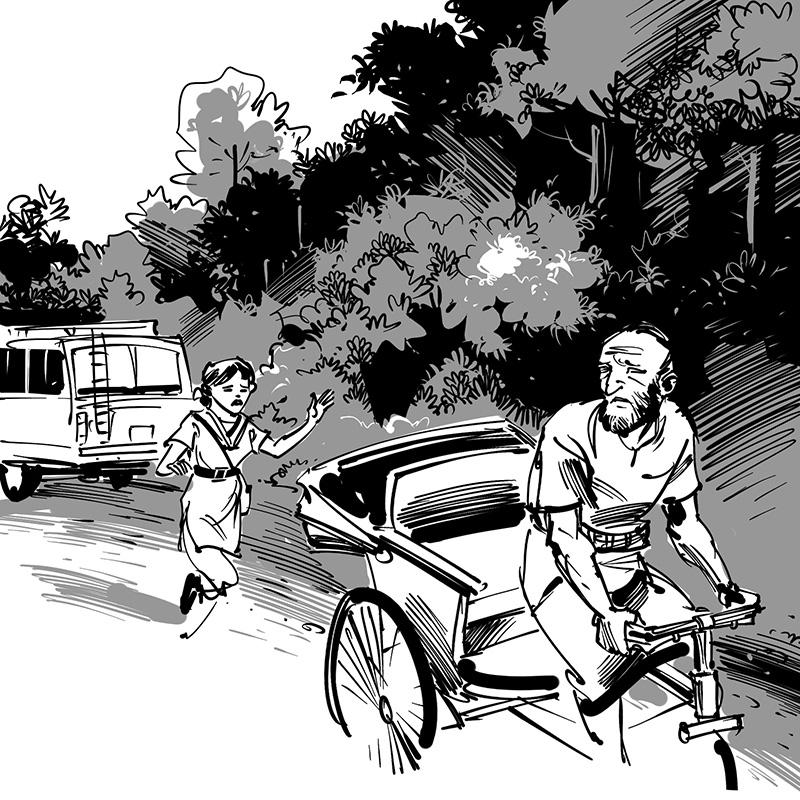 Ahsan Habib children's action adventure novel illustration