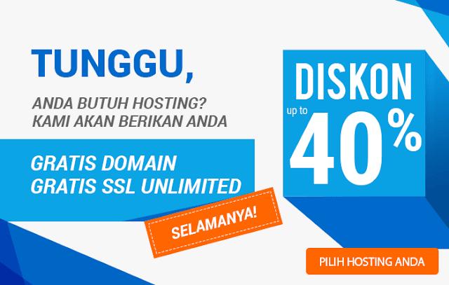 domain gratis 40%