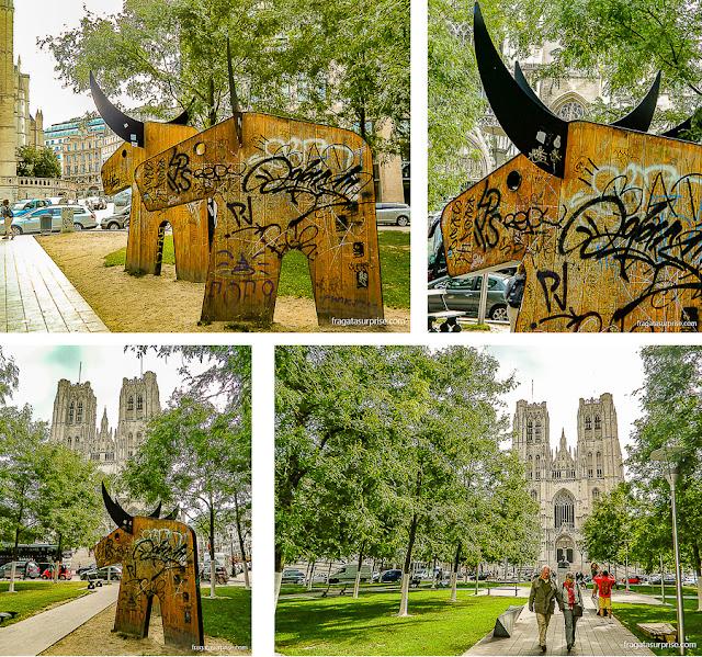 Jardim da Catedral de Bruxelas