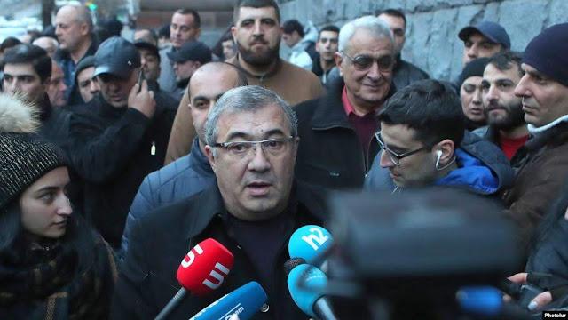 Detenido y liberado Ruben Hayrapetyan