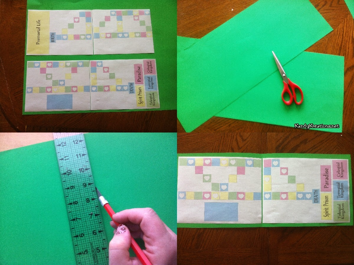 Teach the Plan of Salvation while playing with your Kids! Free Printable board game and ideas to teach for FHE or YM/YW activity.