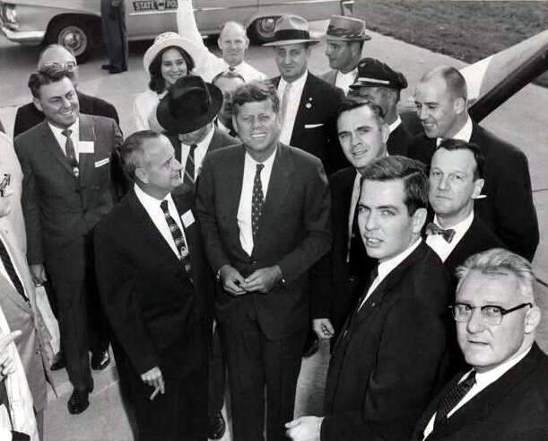 Senator Kennedy's Presidential Campaign in Erie, Erie Municipal Airport (1960)