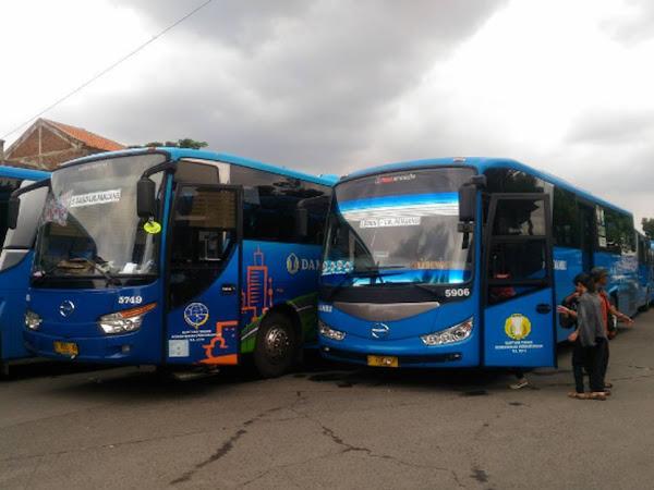 Tarif terbaru Bus DAMRI Bandung
