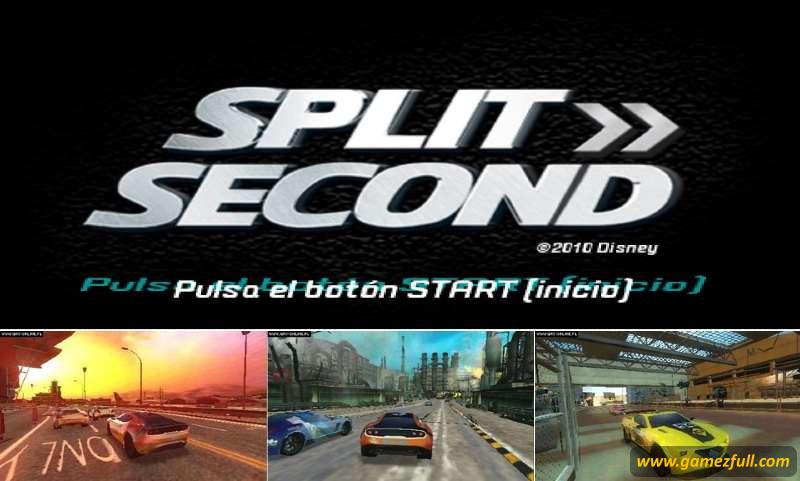 Split/Second Velocity psp descargar gratis