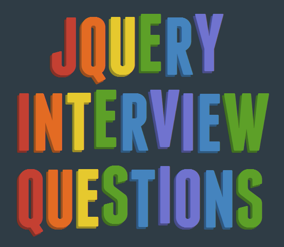 Latest jQuery interview questions and answers - CodeProject