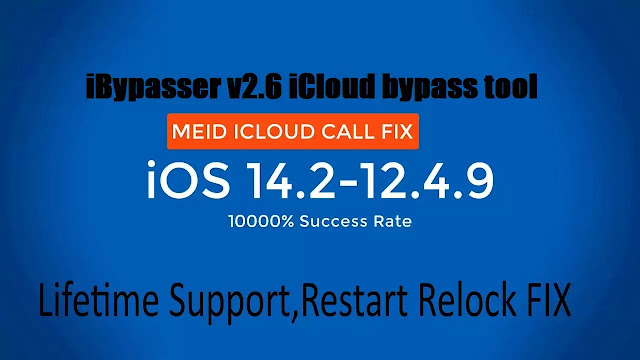 iBypasser v2.6 iCloud bypass tool download