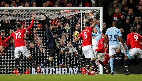 ضمن منافاسات بطولة كأس الرابطة الانجليزية مانشستر يونايتد يواجه مانشستر سيتي بتاريخ 07-01-2020.