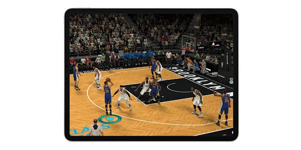 NBA 2K Mobile on iPad Pro