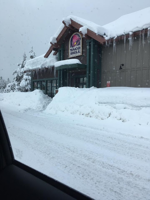 Truckee, CA snow