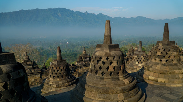 Visited Borobudur and Prambanan in Yogyakarta
