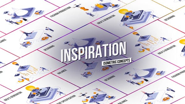 Inspiration - Isometric Concept[Videohive][After Effects][28986847]