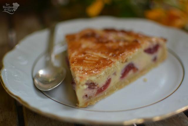 pastel vasco gateau basque con cerezas 05