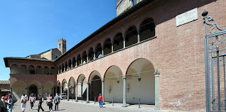 Caterina's home in Siena is now a shrine which houses a museum dedicated to her life