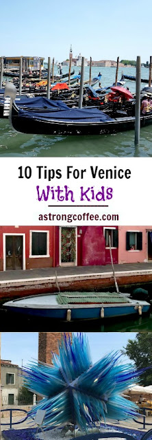 My top 10 tips for travelling to Venice with kids in tow