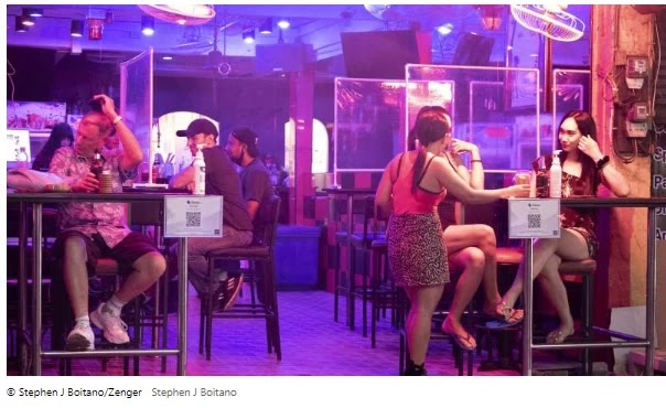 In Photos: Inside Thailand's Red Light District in the Time of Coronavirus