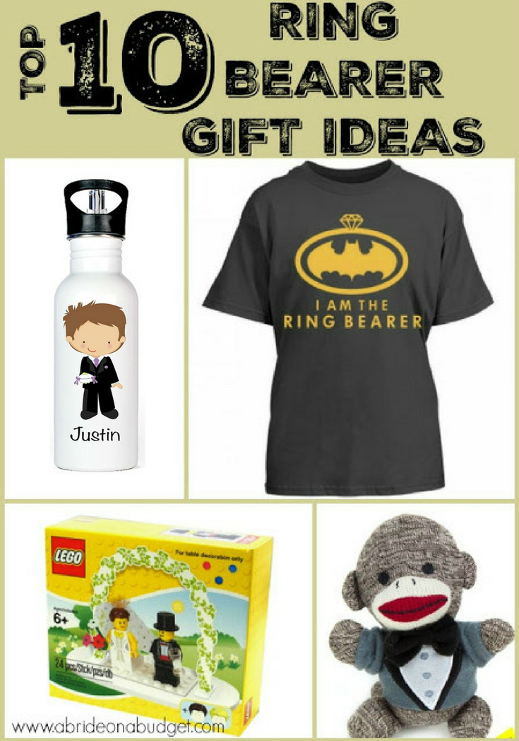 Top  Ring Bearer Gift Ideas