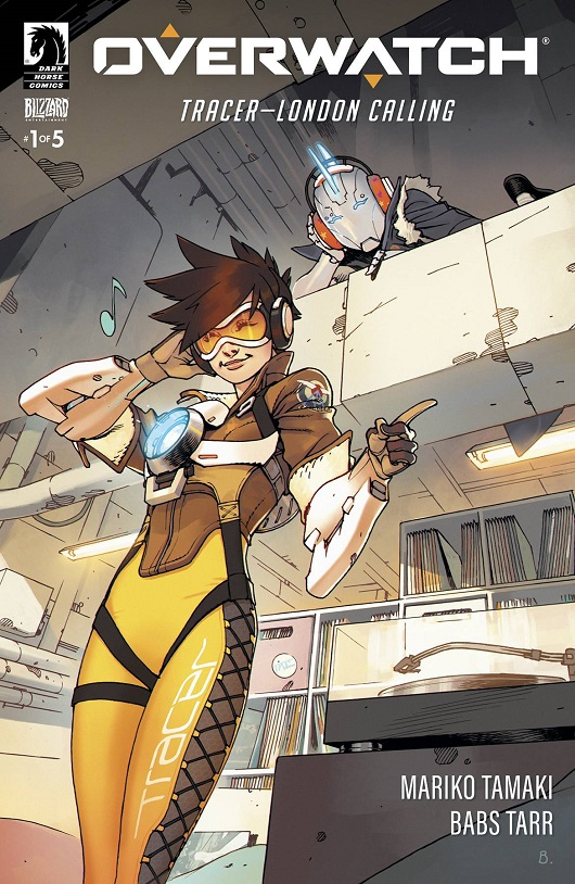 Cover of Overwatch Tracer London Calling #1