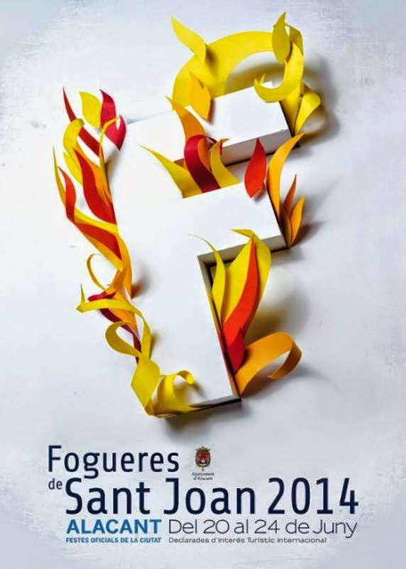 El Blog de María Serralba-Programación Oficial de les Fogueres de Sant Joan d´Alacant 2014