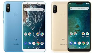 Xiaomi Mi A2 dan A2 Lite Dibandrol 3jtan Kamera 12MP dan Baterai 4000mAh