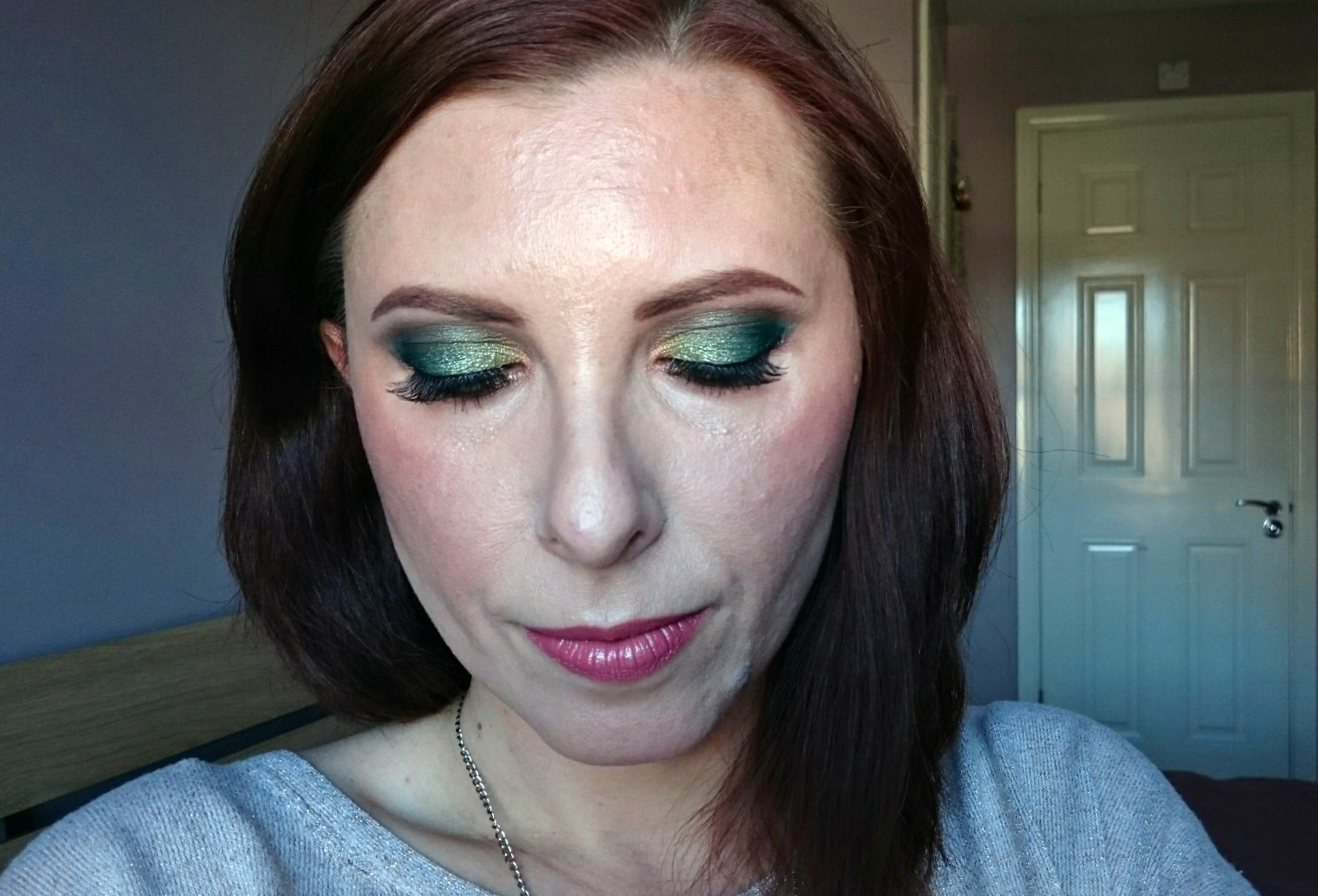 Garden of Eden makeup look