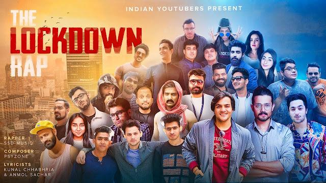 THE LOCKDOWN RAP LYRICS – INDIAN YOUTUBERS