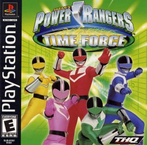 Download Power Rangers: Time Force (2001) PS1