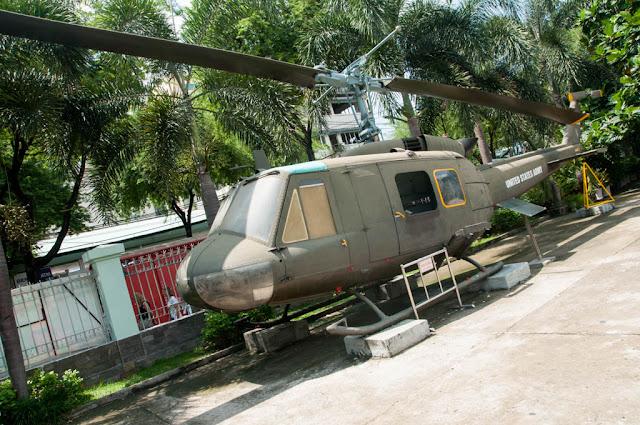 Helicóptero americano (El Museo de la Guerra del Vietnam)