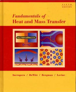 Fundamentals of Heat and Mass Transfer_By- Incropera pdf Book