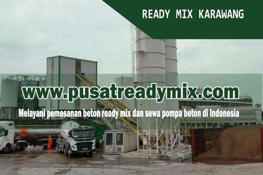 Harga Ready Mix Karawang, Harga Beton Ready Mix Karawang 2019