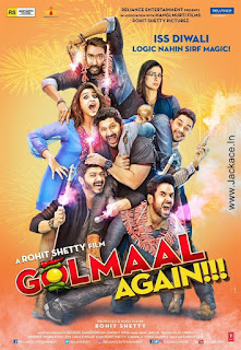 Golmaal Again First Look Poster 4