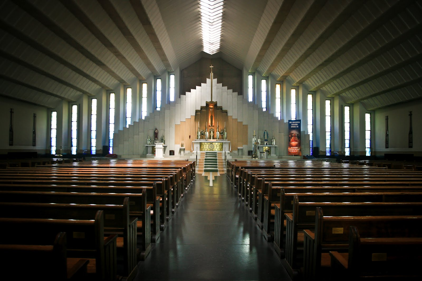 Inside Church Background