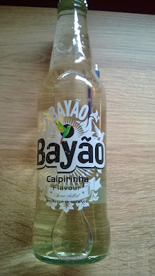 Bayáo Caipirinha Flavour in Glas Flasche.