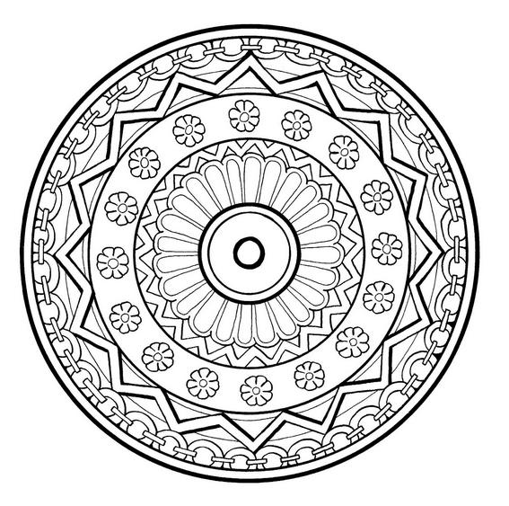 Oltre 25 Fantastiche Idee Su Disegni Di Mandala Da