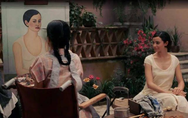 Frida e Cristina Khalo no filme