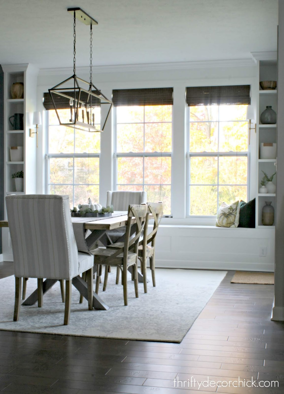 Dramatic Dining Room Makeover From