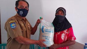 KPM di Bima Senang, Bantuan Beras PPKM Bermutu dan Berkualitas
