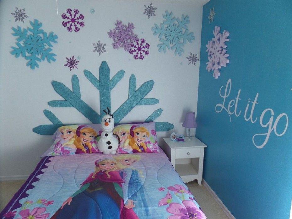 Dormitorios para niñas tema frozen   dormitorios colores y estilos